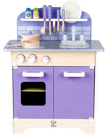 hape purple play kitchen
