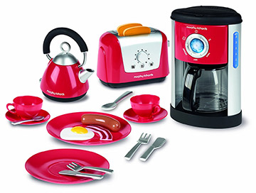 casdon pretend breakfast appliances