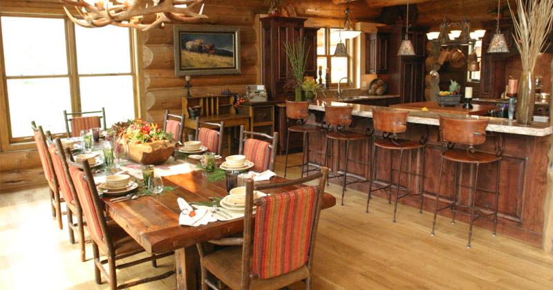 cabin dining room