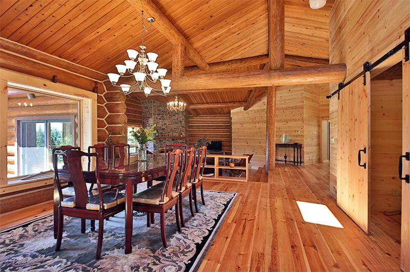 remodeing interior cabin dining room