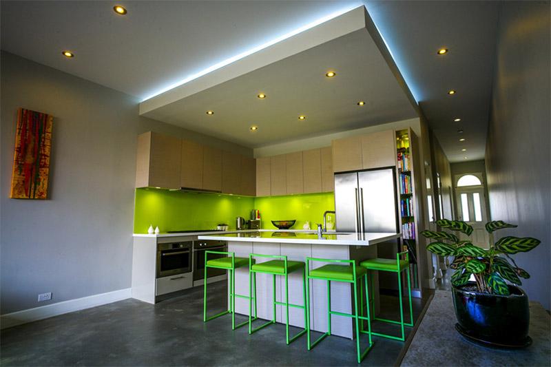 zens green house interior kitchen