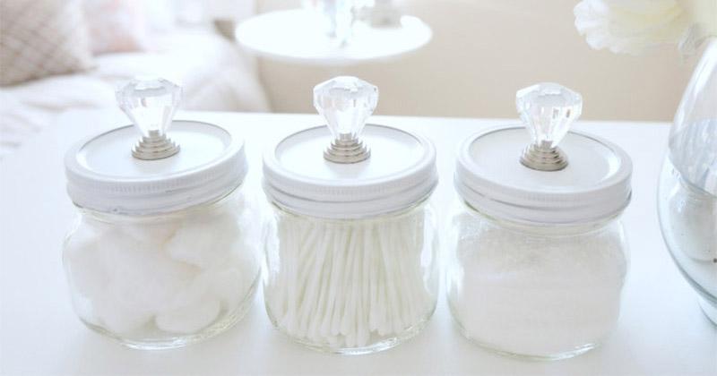 11 DIY Q-Tip Swab Holders For Your Bathroom - Full Home Living