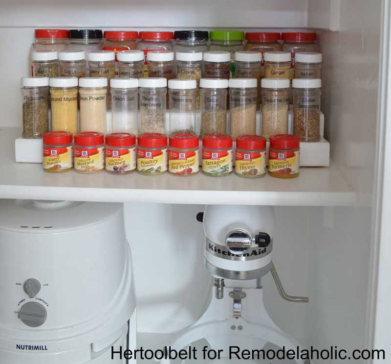 tiered spice rack diy