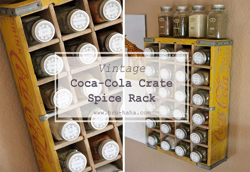 coke soda crate spicerack