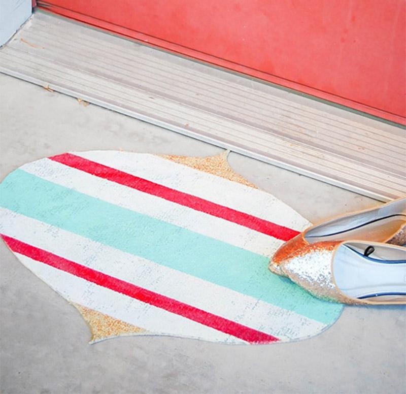 xmas ornament doormat project