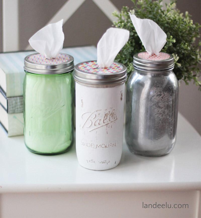 simple mason jars