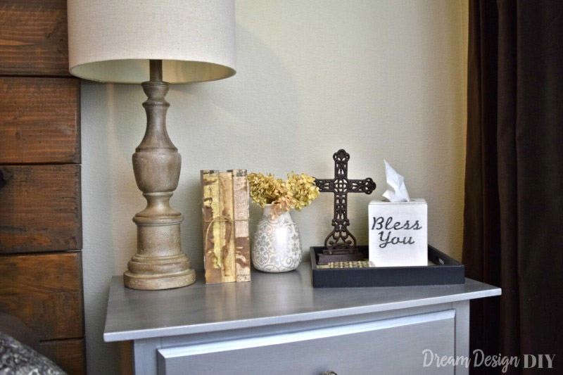 bless you typography tissue box cover
