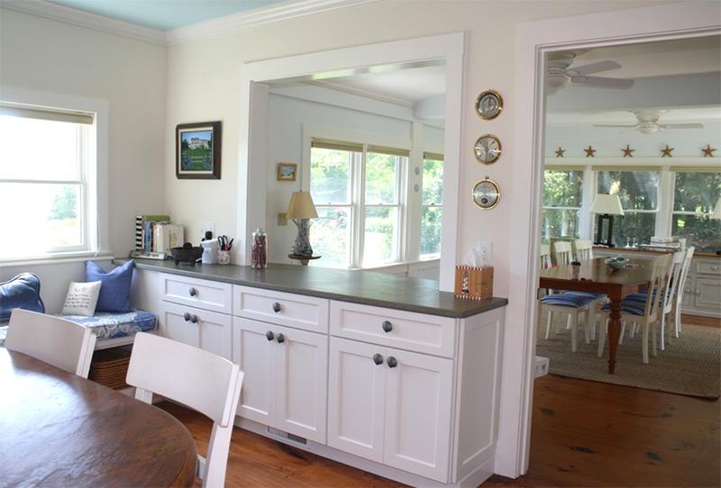 cape cod kitchen pass-through