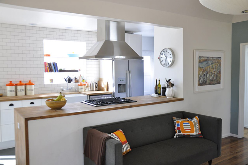 interior contemporary pass through window