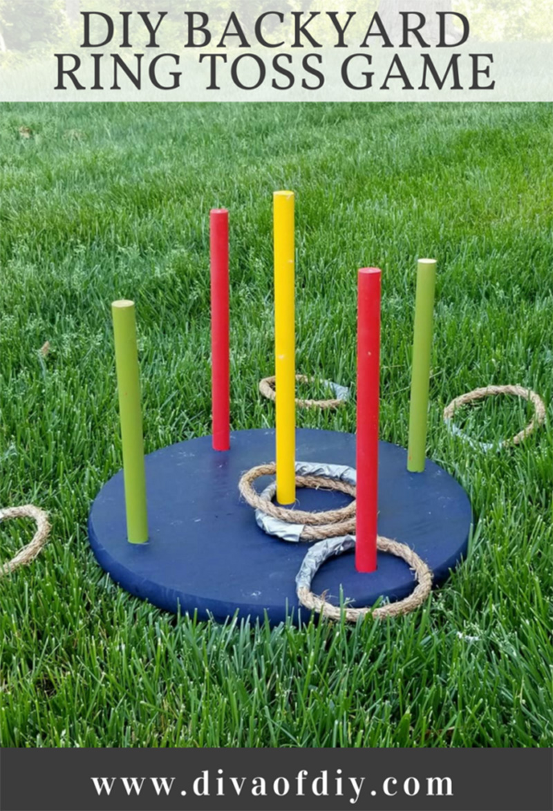 diy backyard toss