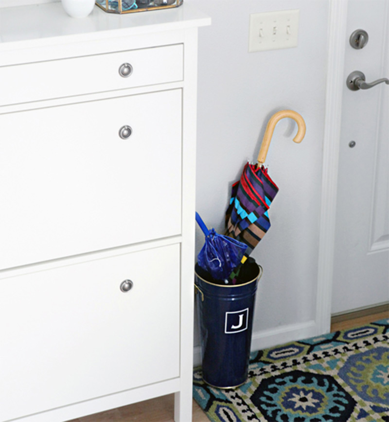 quick easy umbrella stand