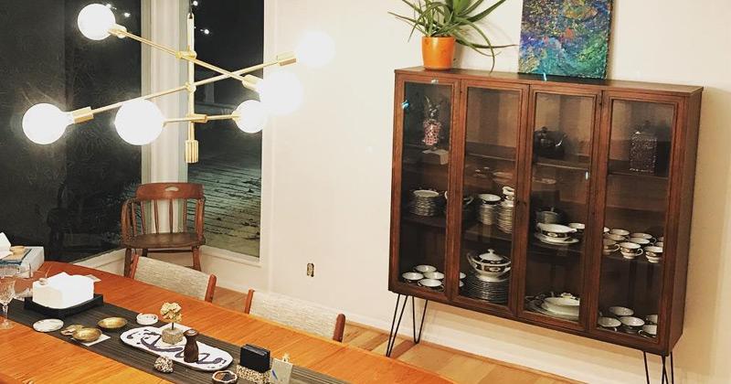 curio cabinet example