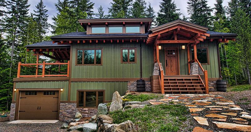 Timber frame housing