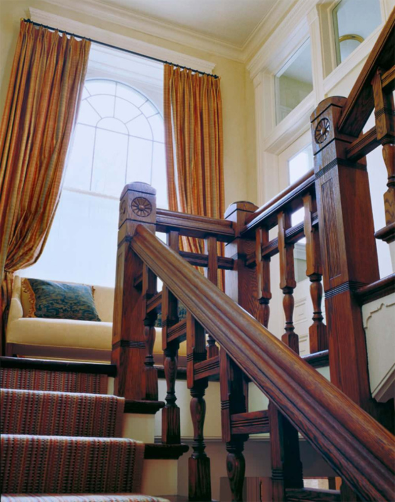 Lakeview staircase interior