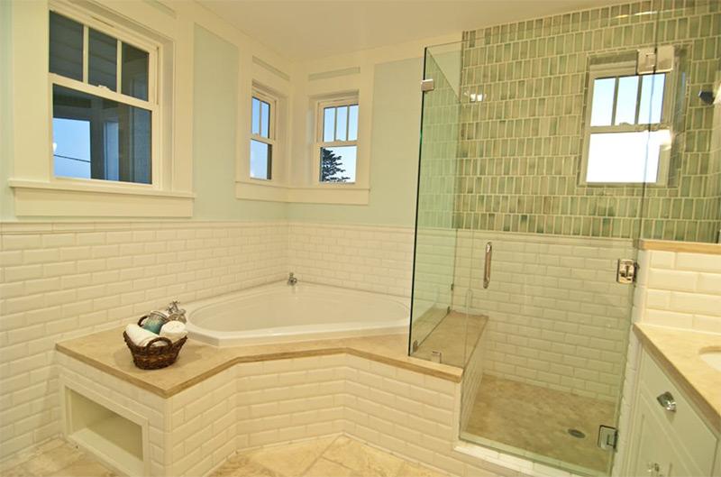 Custom master bathroom interior design