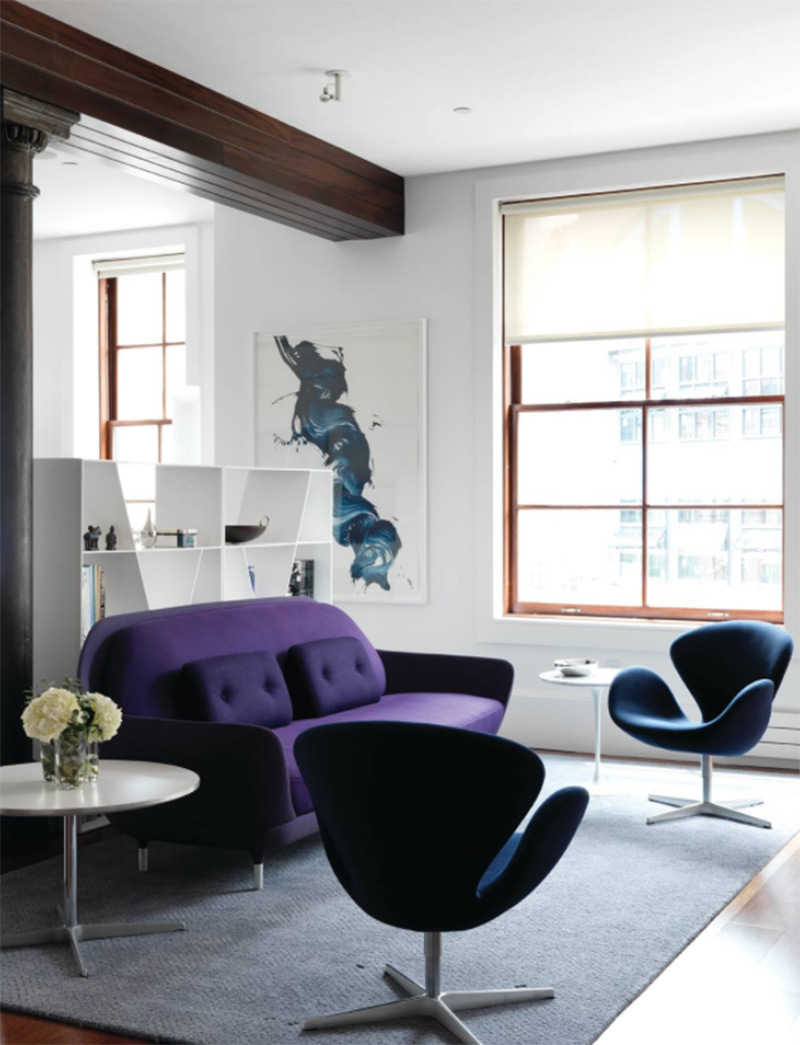 Tribeca loft interior design