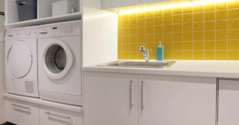 yellow laundry room featured pic