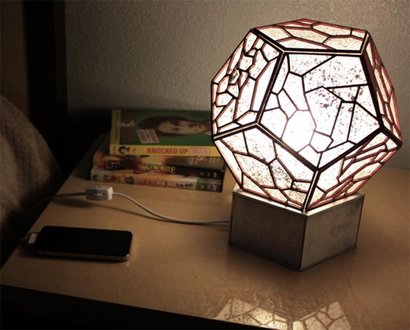jackson pollock round shades lamp acrylic etsy