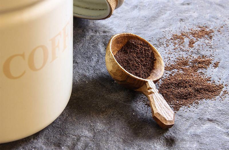 wooden coffee scooper handmade